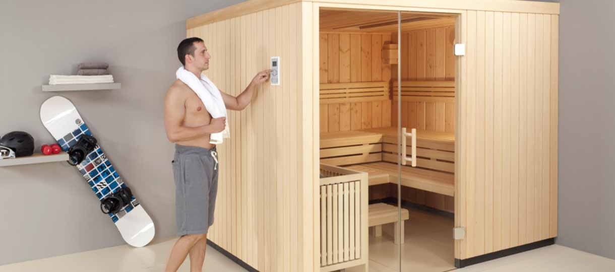 Sauna kann Beschwerden lindern