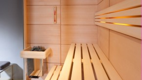 sauna videro die sauna mit viel glas r ger sauna und infrarot. Black Bedroom Furniture Sets. Home Design Ideas
